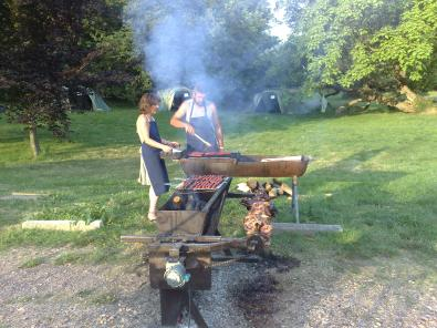 Le barbecue au parc